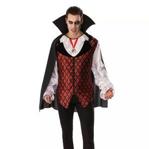 Men vampire costume new
